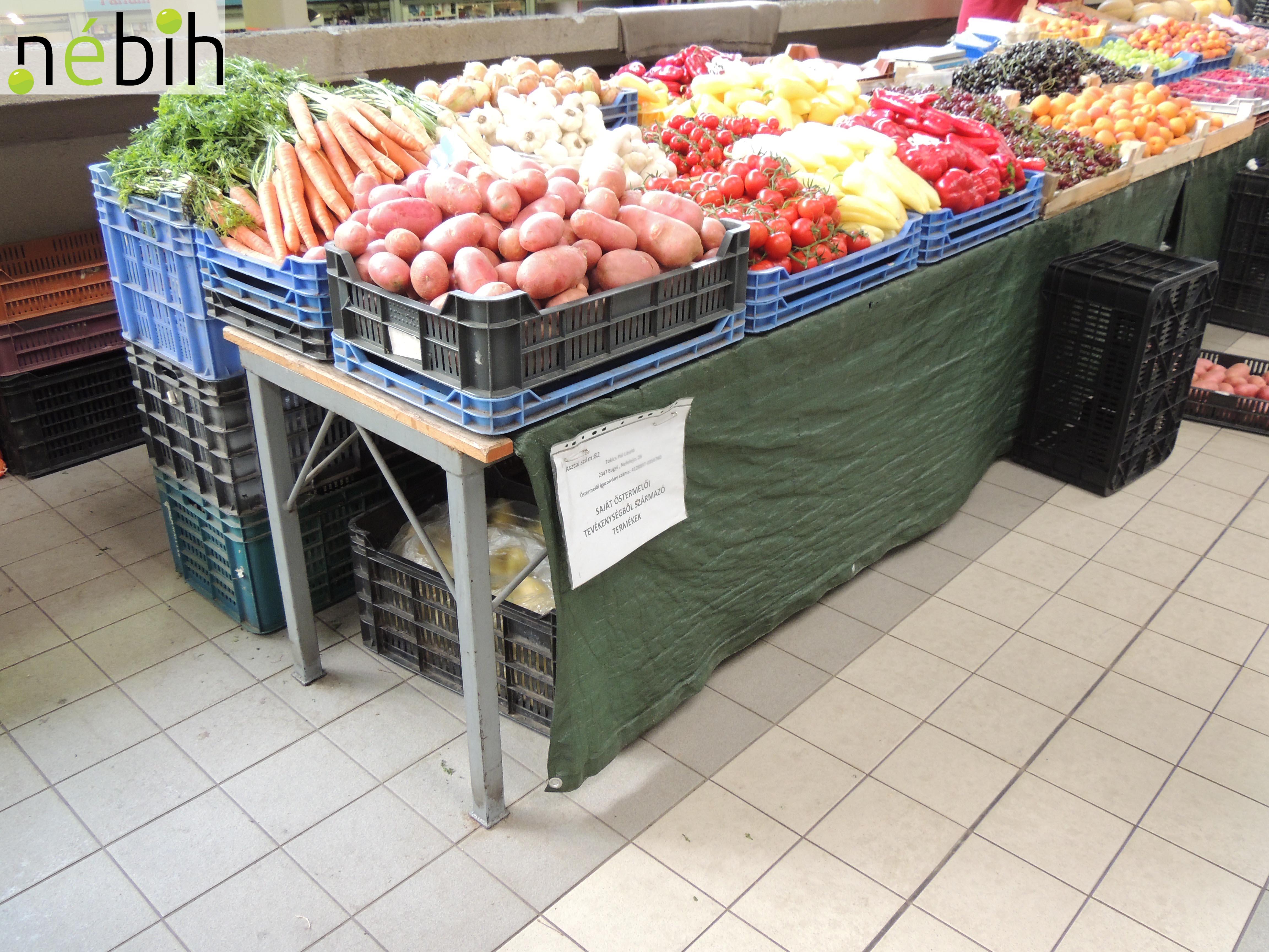 ca1c1fd51615 71 esetben indított hatósági eljárást a Nébih a fővárosi piacok ...