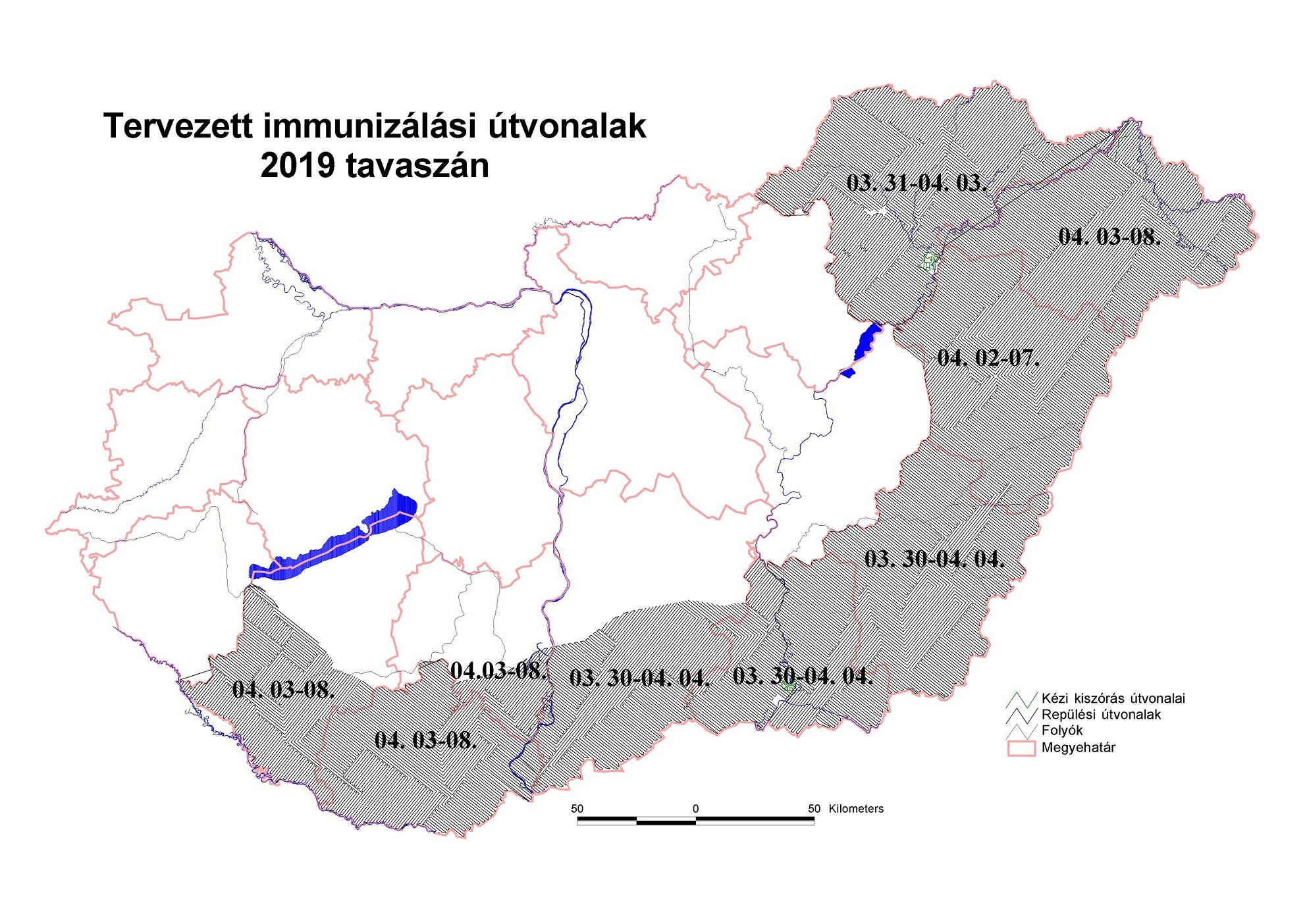 A térképen az ország kezelt területe látható.