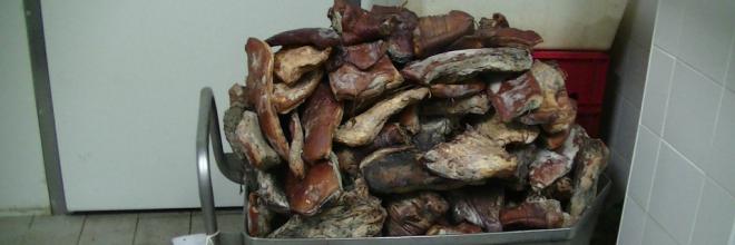 Csaknem 4 tonna húsipari termék ártalmatlanítását rendelte el a NÉBIH Somogyban