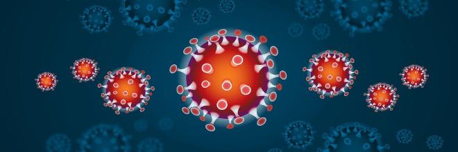 koronavírus animáció